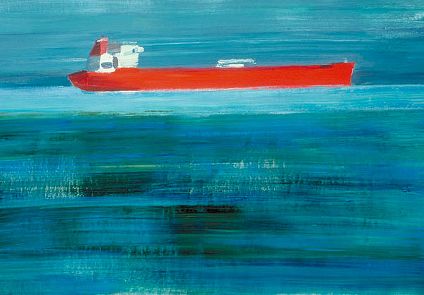 First Friday, here's to ships coming in for Suzy Barnard.