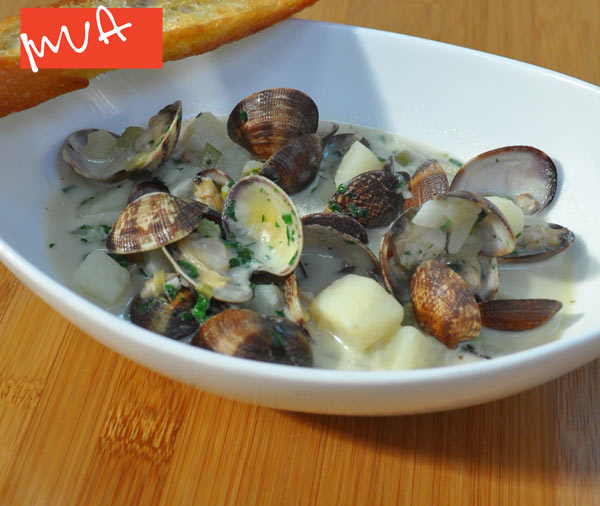 Point Reyes Manila Clam Chowder