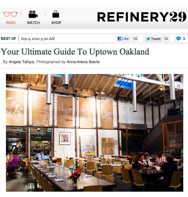 More Oakland Love, This Time—Refinery29